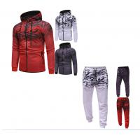 Buy cheap High Quality Custom polyester Fabric Sublimation Mens Slim Fit Hoodies Street Tracksuit from wholesalers