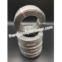 3 x 19 x 0.18 PT 100 Inner Fiberglass Insulation Outer Sheath Nickel Plated Copper Braided Wire Manufactures