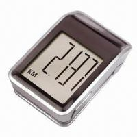 Buy cheap Solar Pedometer, Step Counter, with Big Display, Easy Reading from wholesalers