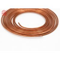 Buy cheap Precise SizeCopper Pancake Coil For Connecting Round Shape High Strength from wholesalers