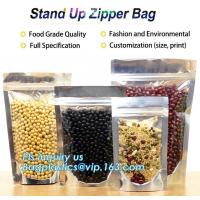 Buy cheap Snack Zipper Bags Food Packaging Stand Up Ziplock Pouch,PACK flexible stand up pouch with zipper packaging bag for food/ from wholesalers