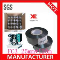 Buy cheap FC3 25mm*120m black hot date coding foil for food bags date coding from wholesalers