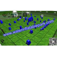 Buy cheap Sport  Inflatable Paintball Bunker Equipmen EN71 / SGS With Three-legged from wholesalers