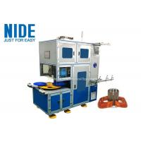 Buy cheap Customized Automatic Coil Winding Machine For Miniature Induction Motors from wholesalers