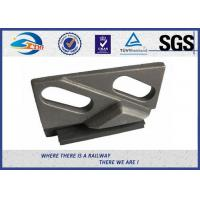 Buy cheap Weldable Base Railway Clips/Double Holes Rail Clips With Integral Rubber Block And Upper Clip In Railroad from wholesalers