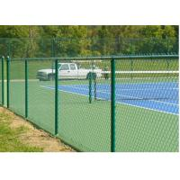Buy cheap Outdoor Black Brown Green Chain Link Fence 6ft For Garden / Courtyard / Villa from wholesalers