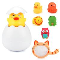 Buy cheap 14cm X 11cm X 5.5cm Floating Silicone Bath Toys Unicorn Duck Bath Toy For Home from wholesalers