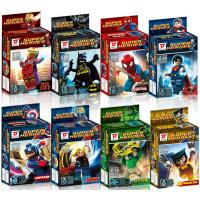 Buy cheap Classic cartoon models superhero block from wholesalers