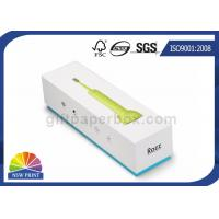 Buy cheap Electric Toothbrush Rigid Paper Gift Boxes Customized With EVA Foam Insert from wholesalers