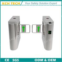 Wholesale Half Height Single Pole Pedestrian Access Control Swing Barrier Turnstile Gate from china suppliers