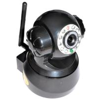 Buy cheap Two Way Audio H.264 CMOS IR-CUT WIFI  Pan and Tilt IP Camera 0.3Lux , Embedded Linux OS from wholesalers