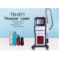 Buy cheap 1064nm 755nm Picosecond Laser Tattoo Removal Instrument / Pigmentation Removal Machine from wholesalers