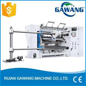 China High Speed BOPP Plastic Film Slitter Rewinder (Plastic Film Slitting Rewinding machine) on sale