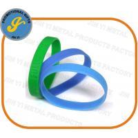 China Debossed/Embossed Silicone Wristbands on sale