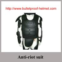 Buy cheap Police Nylon 66 Anti-riot Suits with anti-riot helmet fire-retardent material from wholesalers