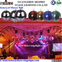 Buy cheap Decoration RGB Spinning LED Ball For DJ KTV Stage Lighting Effects from wholesalers