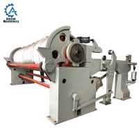 Wholesale Paper Mill High Speed Horizontal Pneumatic Reeling Machine for toilet paper machine from china suppliers