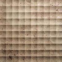 Wholesale Natural Travertine 3D Feature Wall Art Cladding Textures Tile from china suppliers