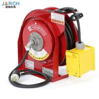 Buy cheap Electric Spring Driven Cord Retractable Hose Reel 45 Feet Of 12/3 Cord GFCI Dual Outlet from wholesalers