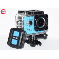 Buy cheap Blue Ef68r Remote Control Action Camera 4k 60fps Wide Angle WIFI Mini DV HD from wholesalers