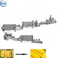 Buy cheap Fresh Corn Industrial Vegetable Washing Machine500 - 2000kgh Capacity from wholesalers