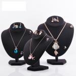 Buy cheap Varnishing Printed Black Velvet Necklace Display Hook Mannequin Display Form from wholesalers