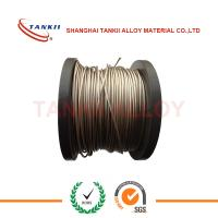 Buy cheap Multi-Strand Nicr Alloy Nickel Chrome Wire For Pink Ceramic Pad Heater Assembilies product