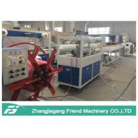 Buy cheap Energy Saving Plastic Pipe Machine Hose Production Line With Single Screw Extruder from wholesalers