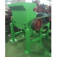 Wholesale Tire Shredder Tyre Crushing Machine Recycled Scrap Tires With Harden Gears from china suppliers