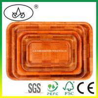 Buy cheap China Bamboo & Wooden Food Serving Tray for Kitchen, Cutlery, Fruit, Tea from wholesalers