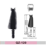 Buy cheap plastic 3d fibre relian custom eyelash extension dual ended benefit mascara private label de halloween cosmetic brush from wholesalers