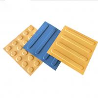 China Factory Directly Sale Rubber Blind Brick Rubber Tiles on sale