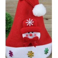 Buy cheap Snowman Christmas Hat or Deer Christmas Cap for Hoilidays Gift from wholesalers