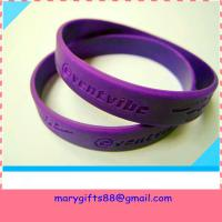 Wholesale debossed  bracelet from china suppliers