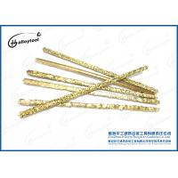 Buy cheap Coating Tungsten Carbide Composite Rods , Gold Tungsten Carbide Electrode from wholesalers