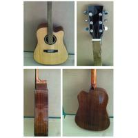 Wholesale 41inch OEM  Top level solidwood vintage cutaway acoustic guitar/western guitar steel string sale-TP-AG61 from china suppliers