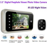 3.5 inch Screen Digital Door Peephole Viewer Camera 120 Degree Wide Angle Video Doorbell Phone Door Eye IR Night Vision Manufactures