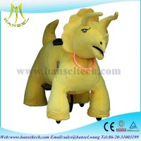 Hansel plush animals motorized battery operated ride animal game for mall Manufactures