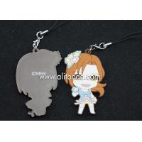 Wholesale Cartoon figures shape pendants custom soft pvc rubber phone pendants supply from china suppliers