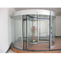 Buy cheap Commercial Three wing automatic revolving door 150KG with central showcase from wholesalers