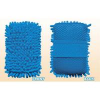 Buy cheap Blue microfiber wash mitt Cleaning Tools in Kitchen for window / Door from wholesalers
