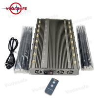Buy cheap 5-8W Each Band Mobile Phone Signal Jammer Wifi 2.4G Bluetooth Walkie - Talkie Lojack GPSL1-L5 from wholesalers
