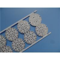 Buy cheap Single Sided Aluminum PCB 2W / MK HASL LF Applied In LED Lighting. from wholesalers