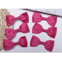 Buy cheap Pink Tie Christmas Ribbon Bow Tie , Satin Ribbon Bows Eco Friendly from wholesalers