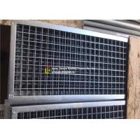 Wholesale Plain Welded Steel Bar Grating Closed End 6m Length For Municipal Subgrade from china suppliers