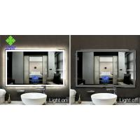 Buy cheap IP44 Rating LED Lighted Bathroom Mirror Wall Mount Silver Mirror Raw Material from wholesalers