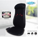 Buy cheap Triple Action Massage Seat Cushion Heat Shiatsu Rolling Massage With Programmable Remote from wholesalers