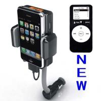 Buy cheap Dc 12v, Vehicle Power Black Fm Transmitter + Car Charger For Iphone 3gs 3g Ipod Touch from wholesalers