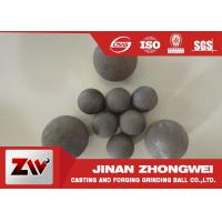 Customized Forged Steel Grinding Ball Mining Water Or Oil Quenching