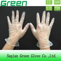 Buy cheap 3.5 mil food service gloves non allergenic CE , American NSF approved from wholesalers